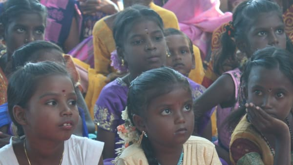 Education support for children in India